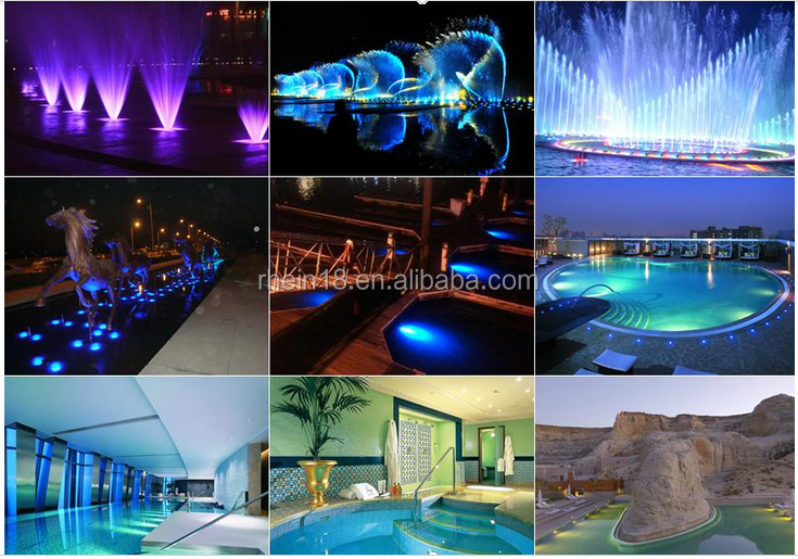 1200lm Epistar Led Chip Ip68 12w Led Underwater Fountain Light ...