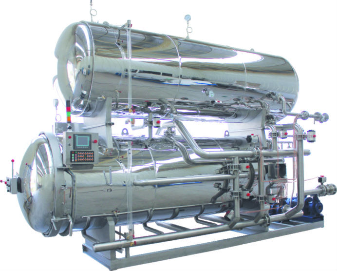 Automatic Satisfy Clients Requirement Professional Food Retort Autoclave Food Sterilizer Machinery