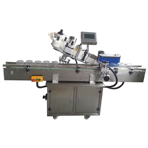 Automatic sticker applicator machine for cups