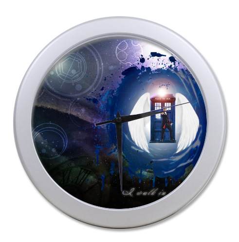 Original <font><b>Home</b></font> <font><b>Decoration</b></font> Customized Doctor Who <font><b>Elegant</b></font> Wall Clock Modern Design Watch Wall Free Shipping #LQ026