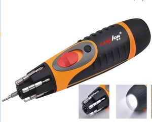 6 in 1 industrial automatic electric screwdriver electric screwdriver multi screwdriver with led torch