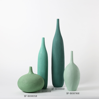 Antique Decorative Modern Colored Vases for Decoration