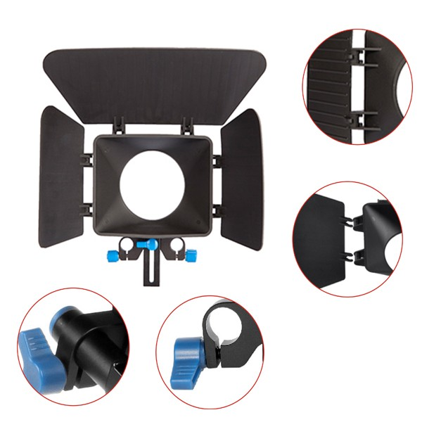 Professional Photography Accessories DSLR Camera Matte box