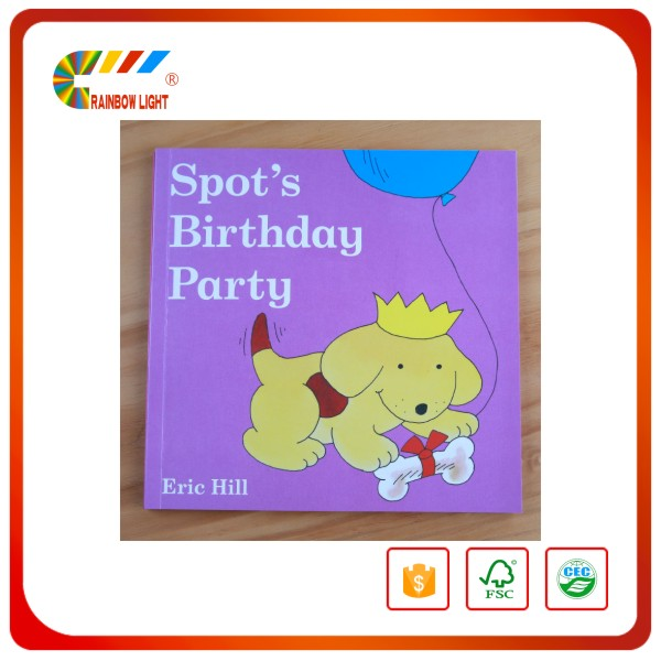 Children Board book printing with customised sizes from Indian Printer