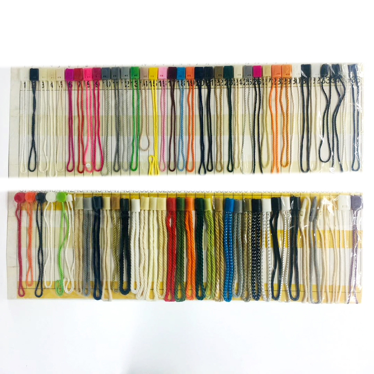 Cheap Wholesale Commonly Use Shape White Blank Hang Tag  Seal Lock Plastic String for Clothing