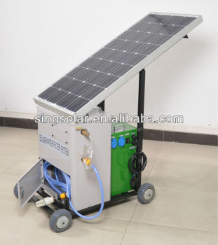 Newest Product Portable Solar Home Reverse Osmosis Water