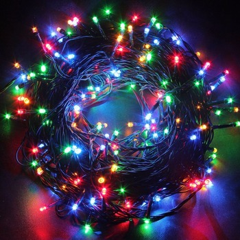 cheaper a41b8 8fe65 Christmas Outdoor Decoration 220v Waterproof Black Pvc Wire 10m Rgb Led  Fairy Light - Buy Rgb Led Fairy Lights,Pvc Led Fairy Lights,220v Christmas  ...