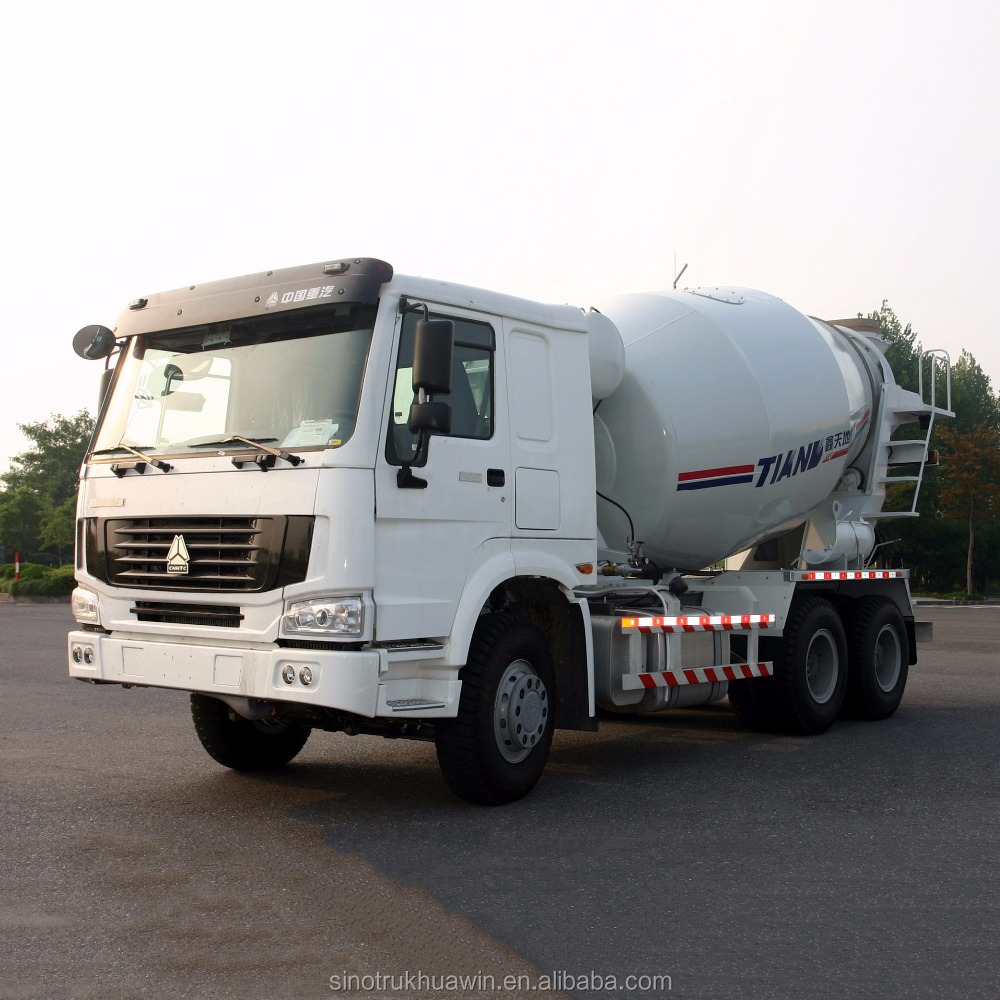 SINOTRUK HOWO 6X4 8m3 10m3 12 M3 Concrete Cement Mixed Mixer Truck Price For Sale