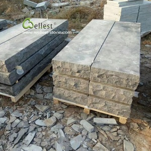 China outdoor blue limestone bluestone steps and stairs for landscaping