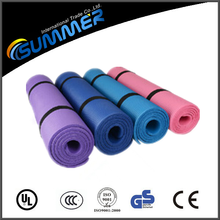 Wholesale cheap smell-less yoga mat NBR thick eco-friendly exercise mats
