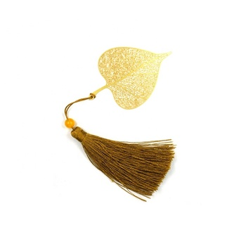 OEM Brass Made Bookmark with Tassel Pendant