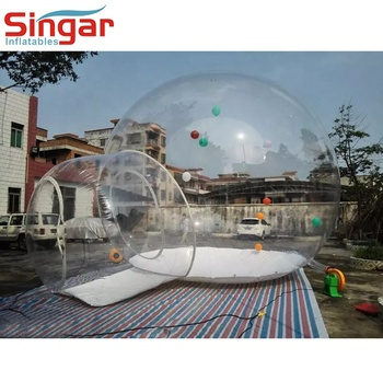 Cheap inflatable transparent tent,inflatable clear dome