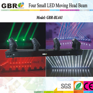RGBW 4 in 1 CREE 10w Mini led beam/ led moving head beam
