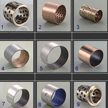Steel Copper Bearing Bush/ Brass Oil Hole Bush/du Teflon Washer Dx Thrust  Bearing/bronze Graphite Metal Wear Plate Pads Bushing - Buy Steel Copper