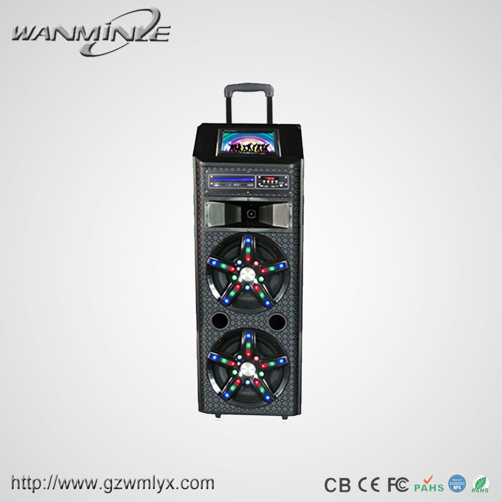 Dj system for sale 12 inch touch screen bluetooth speaker with usb/fm radio