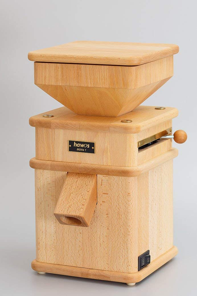 hawos Mill 1 Classic Grain Mill for Freshly Ground Flour 110 Volts