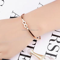 Wholesale American Top Selling Stainless Steel Digital Women Bangle