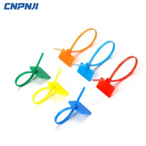 Polyamide Marker Cable Ties with Label Bundle Identification of Wire Hardness