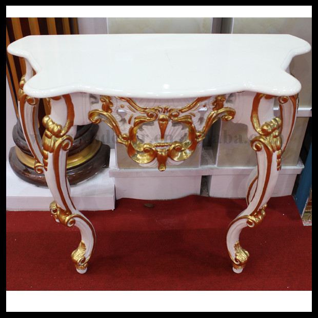 15 Entrance Hall Table Styles To Marvel At: French Gold Ornate Wall Table Console With Mirror Foyer