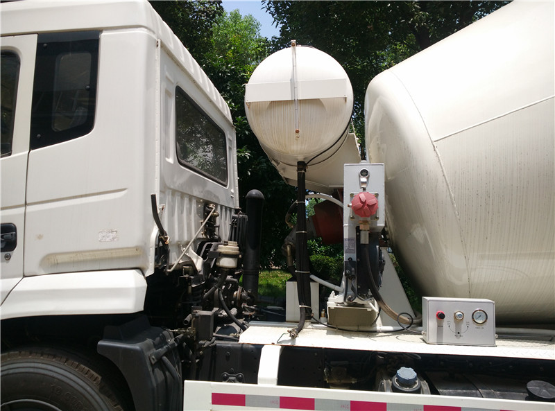 high quality second hand concrete mixer truck for concrete delivery