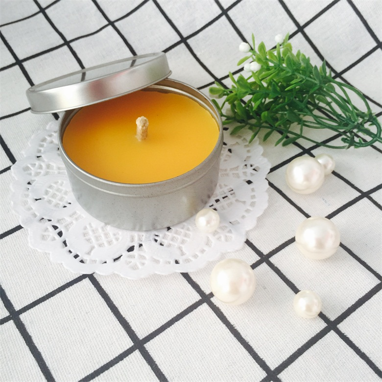 Mosquito Repellent Citronella Traveling Soy Wax Candles In Tin Timplate Box