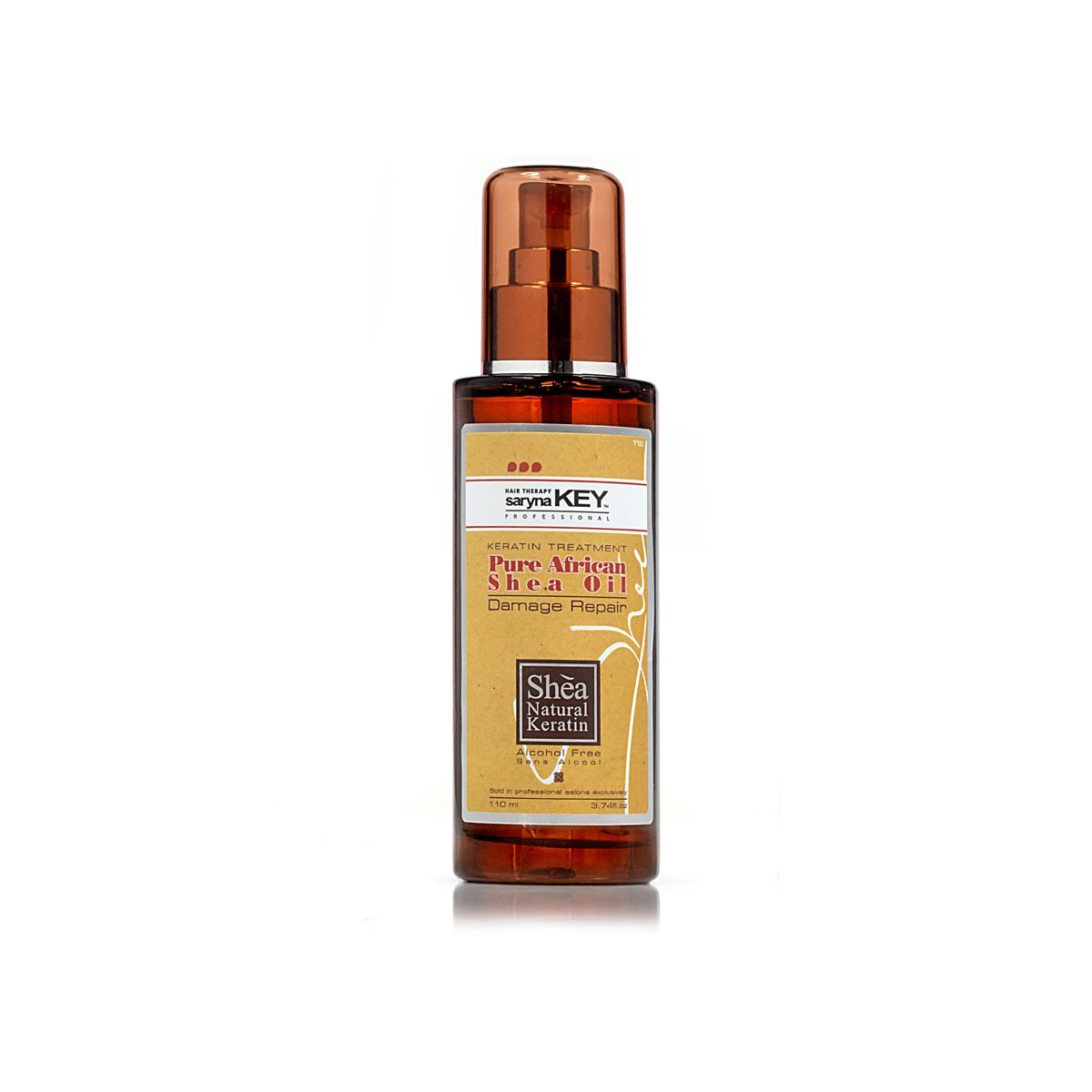 Saryna Key Damage Repair Conditioner, Pure African Shea Oil, 3.74 Ounce
