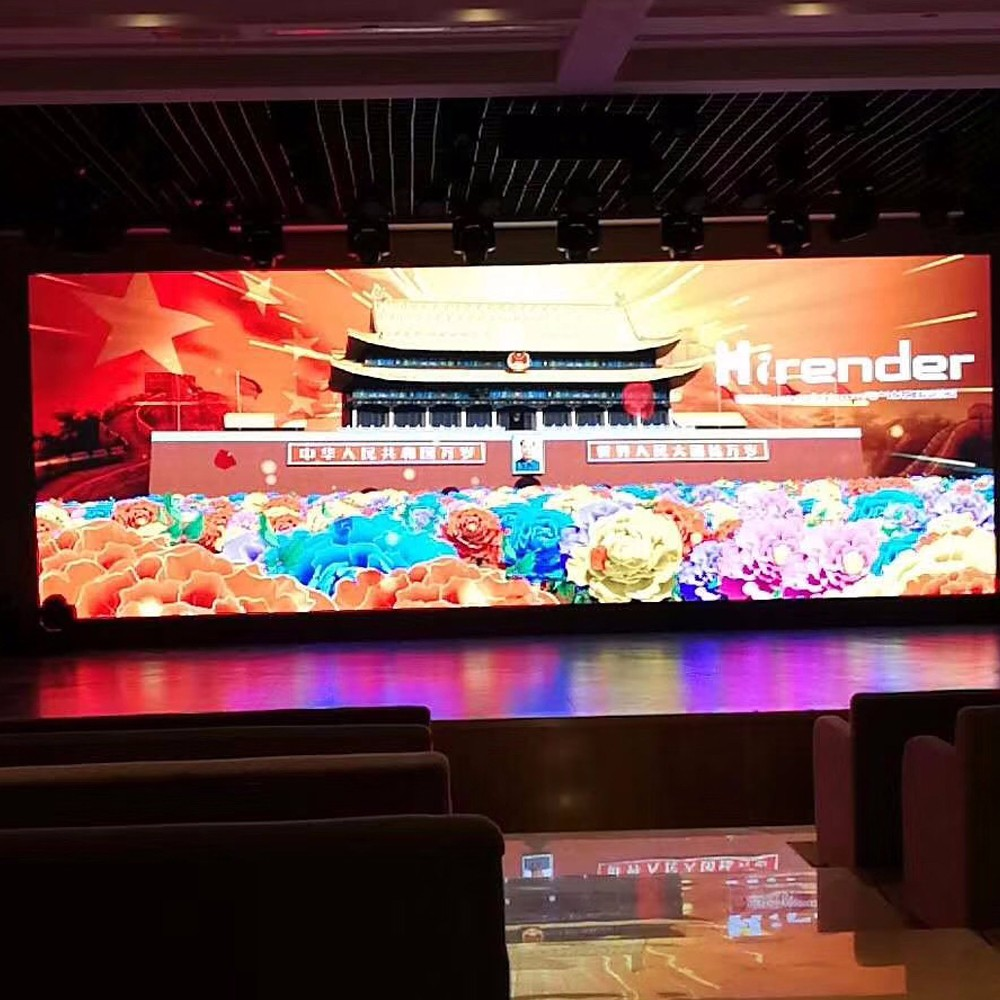 Meeting Room Die Casting Aluminum Cabinet Rental HD P2 Conference LED Screen / Indoor LED Video Wall