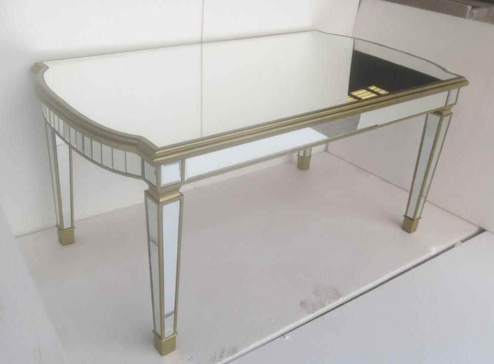 Gran base de espejo mesa de comedor redonda mr 4t0220 for Espejos para mesa