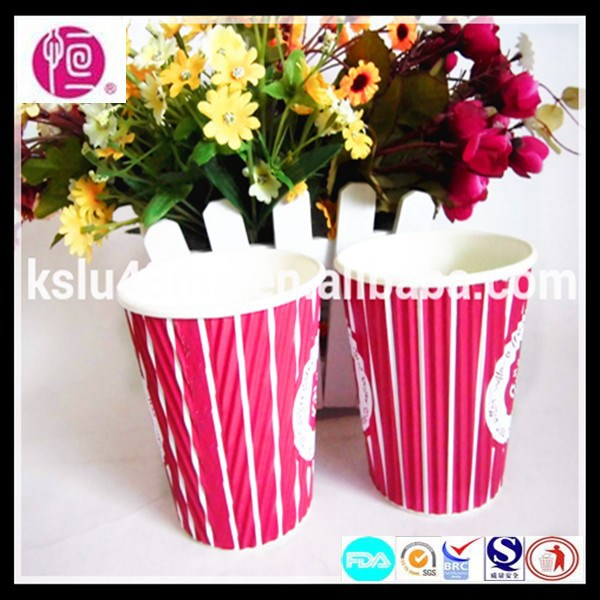 Wholesale China Custom Paper Ripple Cup Fan