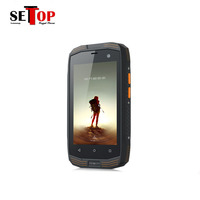 4G rugged nfc gps handheld mobile 8 core dual sim smart phone without camera