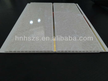 Hu Gebouw Pvc Panelen Voor Badkamer Plafond - Buy Pvc-panelen Voor ...