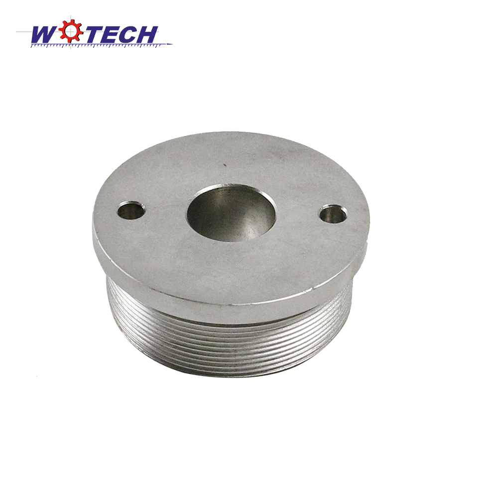Custom Steel CNC lather machining thread cap for auto