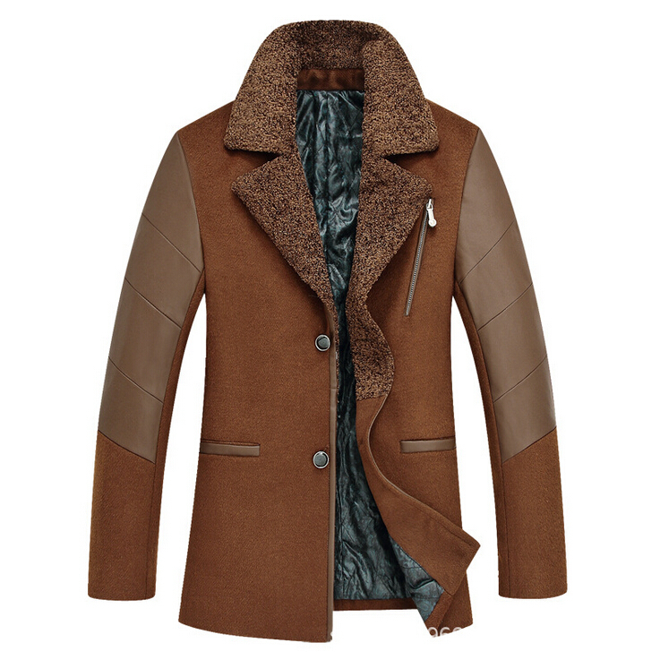 Trench Coat 2014 Brand Men's Jacket Coats For Men 2014 Winter Hooded Trench Warm Coats Classic Overcoat Men Camouflage