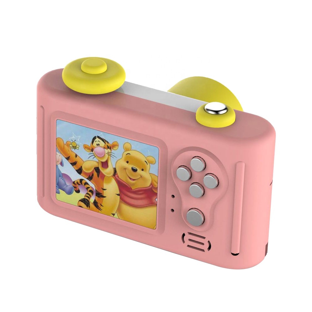 Nieuwe Kind Cartoon kleine speelgoed 1080 p Kinderen Game kids digitale camera voor Birthday Party Christmas Gift