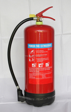 Foam fire extinguisher with foot tripod type