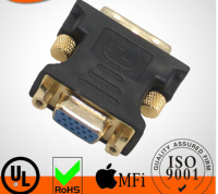 DVI male to VGA female Adapter For Tablet/ Monitor DVI-I(24+5) to VGA Converter