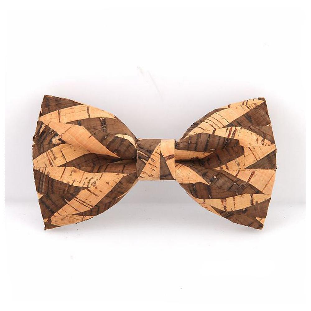 Handmad Fashion Men/'s Wedding Wooden Bow Tie Stitching Party Wood Tuxed Necktie