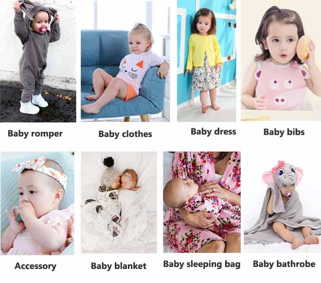 Großhandel neugeborenen baby mädchen 5-pack gedruckte organische baumwolle kurzarm baby bodys