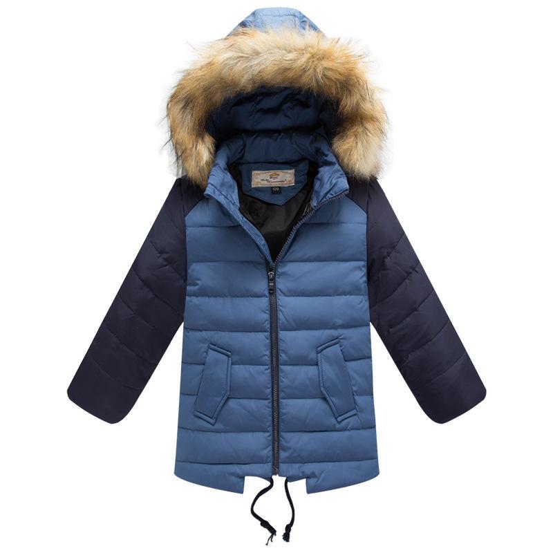 e98f78ef42f7 Get Quotations · 2015 Children's Winter down Jackets&Coats warm Boy's 100%  duck Down jackets & Parkas Fur Kids