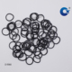 Round Industrial Packing Black Rubber Band