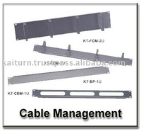 1U & 2U Front Cable Management