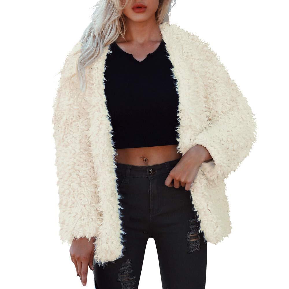 e41210092884 Buy Clpp  39 li Womens Slip On Faux Fur Warm Winter Mules Fluffy ...