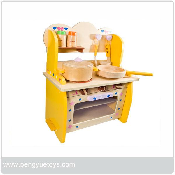 kinder k che aus holz spielzeug k che gesetzt spielzeug. Black Bedroom Furniture Sets. Home Design Ideas