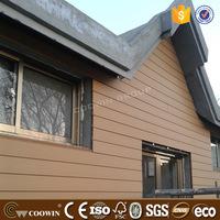 Cedar playhouse wood composite fireproof wall siding with sgs