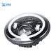7 Inch 45W Round LED Halo lamp Kit Met LED Chips DRL Angel Eye H4 H13 Hi/Lo beam headlight for Jeep JK 2009-2015 TJ YJ Hummer