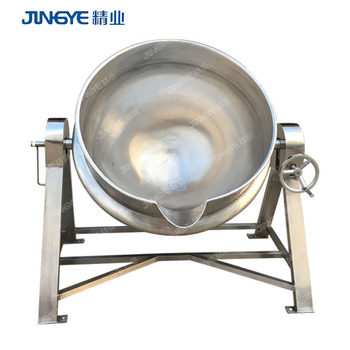 Tilting Steam Jacketed Kettle Catering Equipment For Food Processing