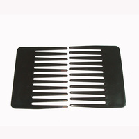 Pocket Comb Wide Tooth Plastic Comb Small Beard Handmade Hair Comb Brush