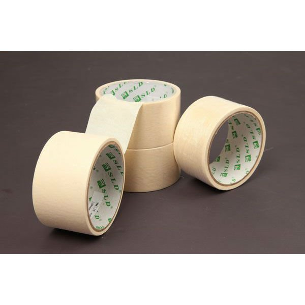 Alibaba Cheap Price Free Sample Wholesale Self Adhesive 3M Masking Tape Crepe Paper Masking Tape Jumbo Roll For General Purpose
