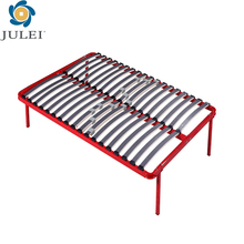 hotel metal twin KD bed frame DJ-PK05 iron double bed design