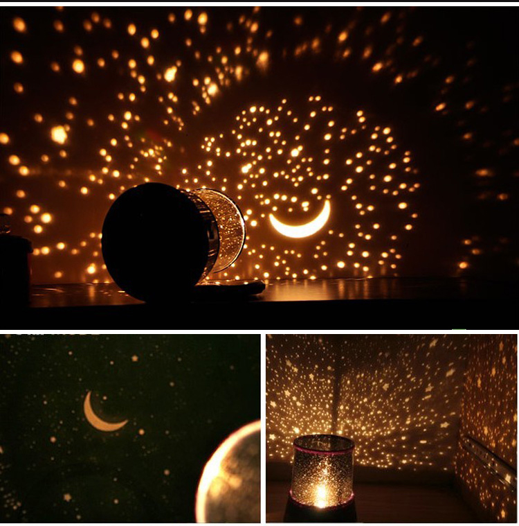 Romantic Beautiful Cosmos Sky Starry Star Night Light LED ...